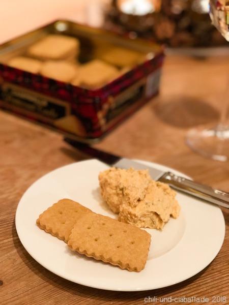 Cracker mit Liptauer