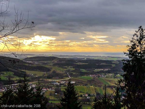 Ausblick mit Alpensicht