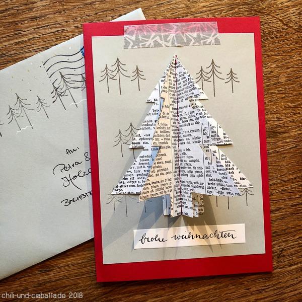 Weihnachtskarte Kathi