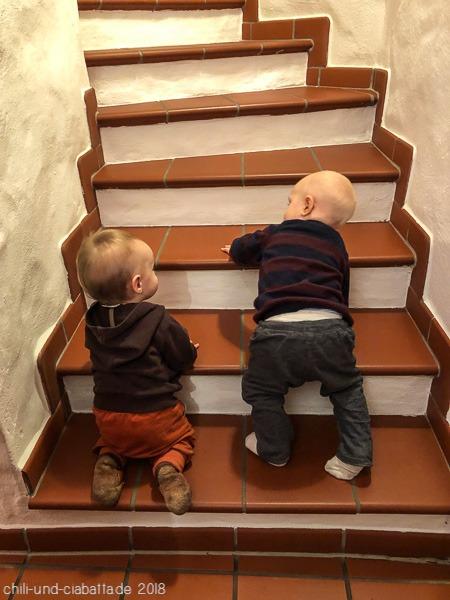 Treppenerkundung