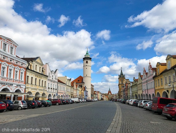 Stadtplatz Domazlice