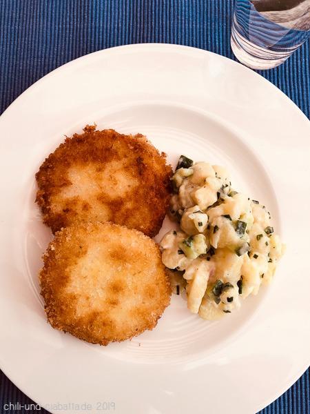 Kohlrabi-Käse-Schnitzel