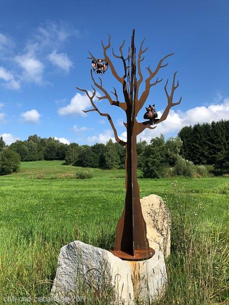 Fledermaus-Skulpturenweg 4
