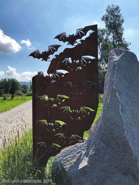 Fledermaus-Skulpturenweg 3
