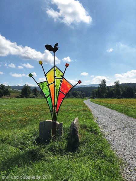 Fledermaus-Skulpturenweg 2