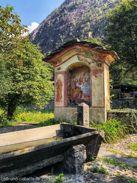 Waschplatz Avegno