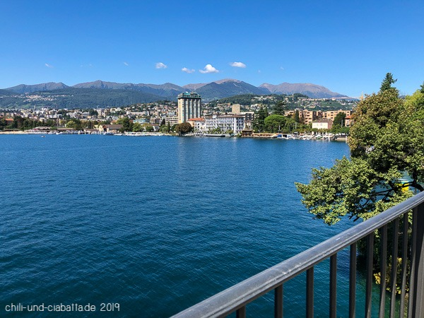 Blick auf Lugano