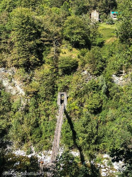 Brücke über die Melezza