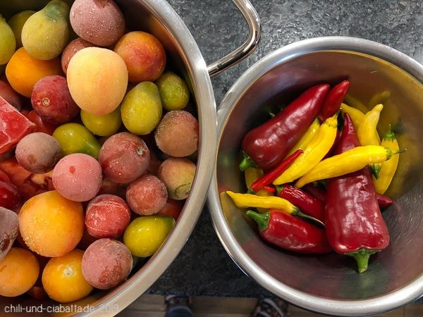 Paprika-Tomaten-Chili-Sauce