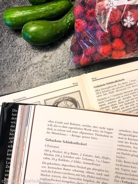 Ernte und Essensplan