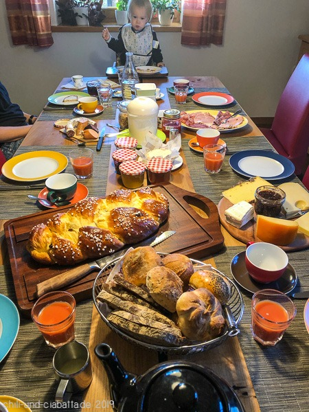 Allerheiligen-Frühstück