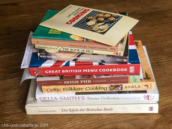Kochbücher Großbritannien