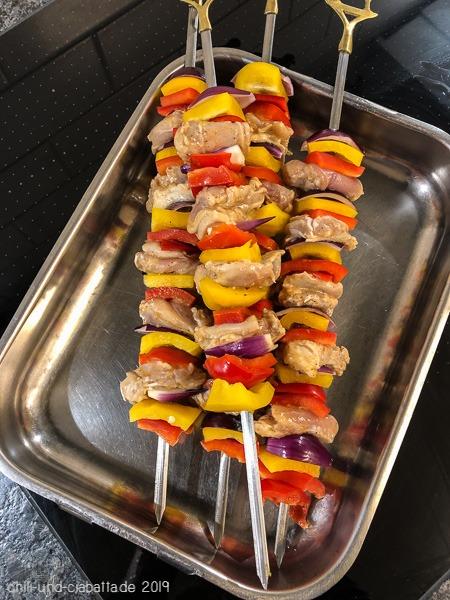 Hähnchen Shish Kebab