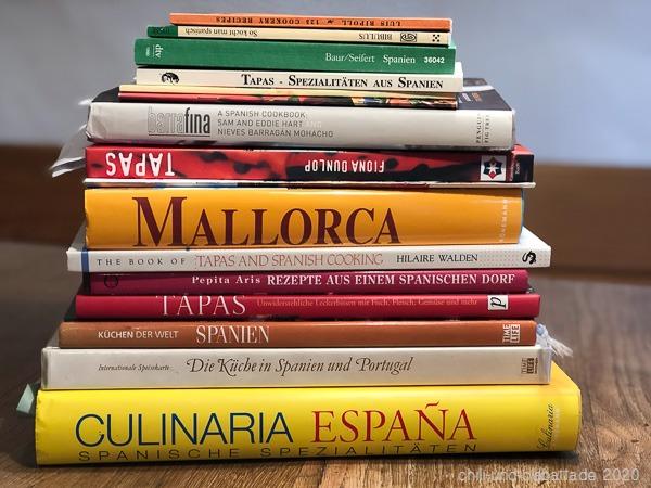 Kochbücher Spanien