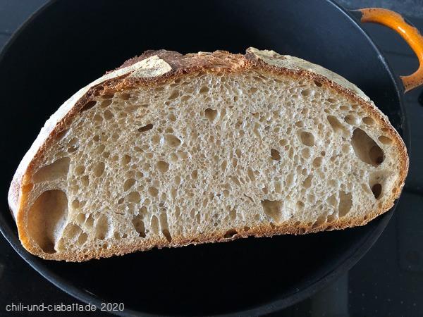 Anschnitt Brot