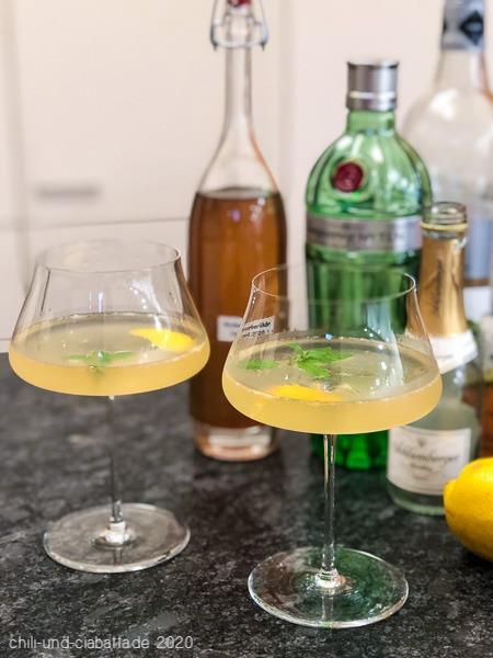 Rhabarber-Gin-Sparkler