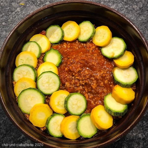 Zucchini-Mussaka