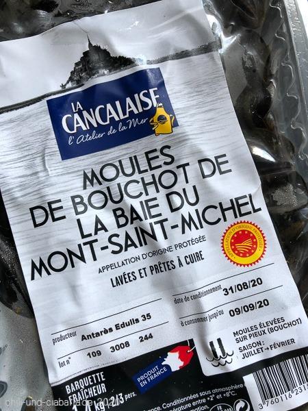 Bouchot Muscheln