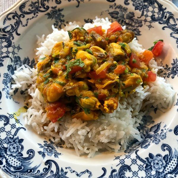 Curry-Muscheln