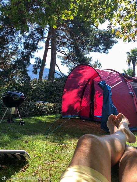 Campingplatz-Feeling
