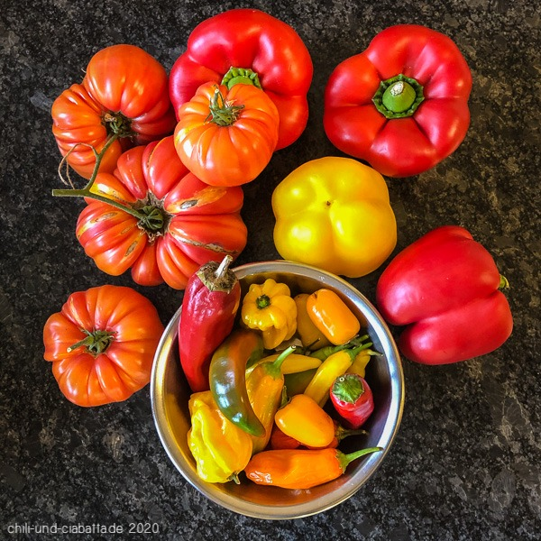 Chilis, Tomaten