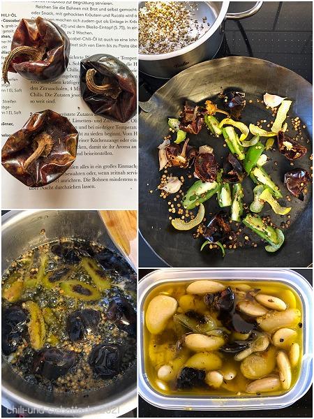 Cascabel-Chiliöl für Riesenbohnen
