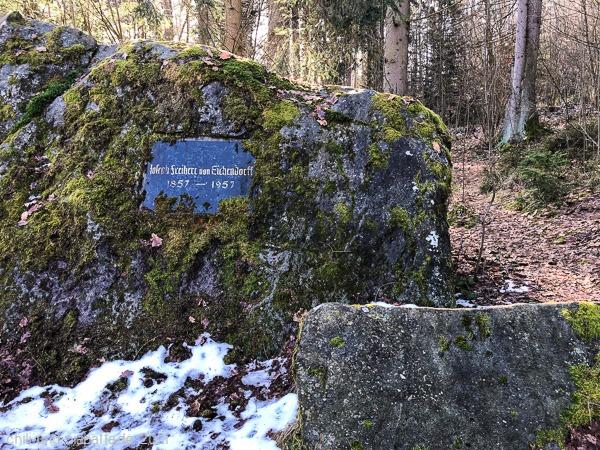 Freiherr von Eichendorff Gedenkstein