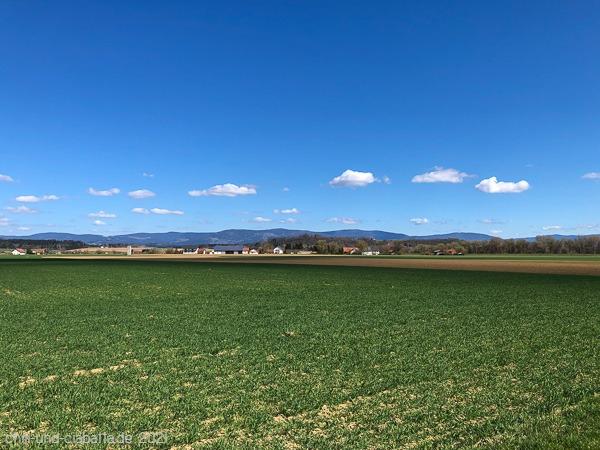 Blick auf den Bayerwald