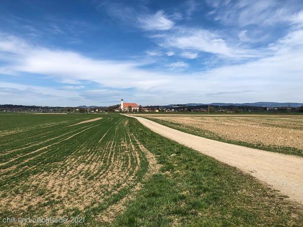 Kloster von fern