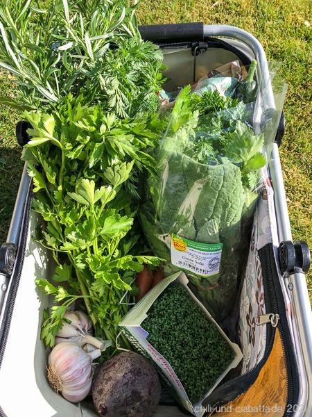 grüne Einkäufe
