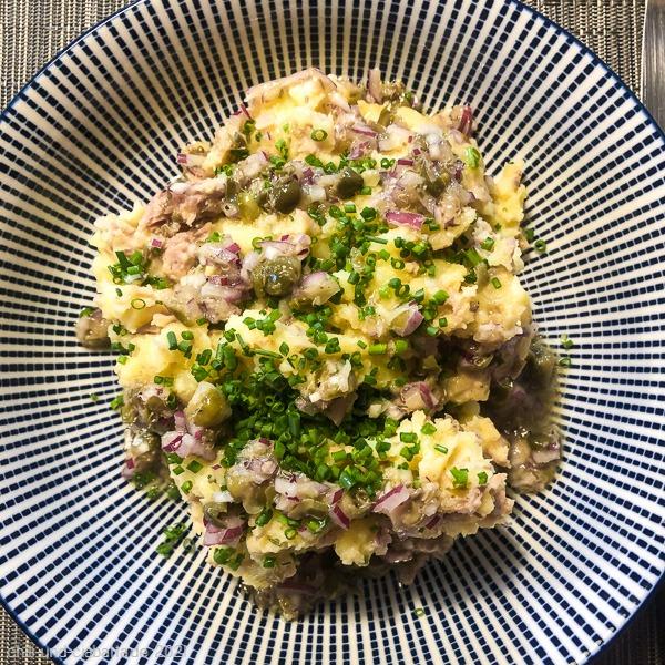 Kartoffel-Thunfisch-Püree