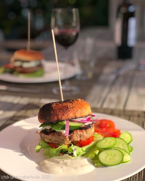 griechischer Burger