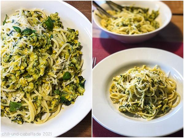 Zucchini Butter Spaghetti