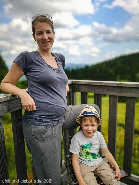 Kathi mit Kilian