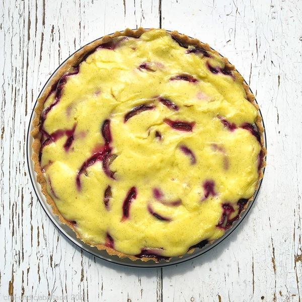 Zwetschgen-Creme-Tarte