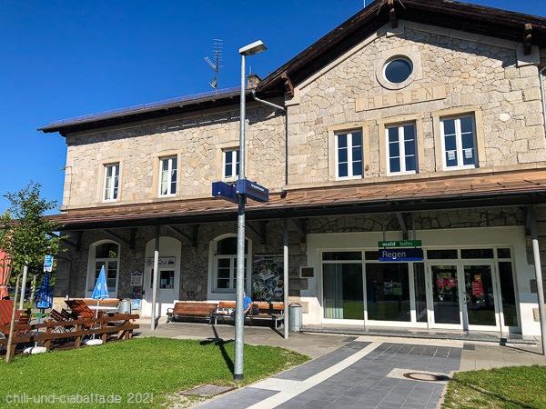 Bahnhof Regen
