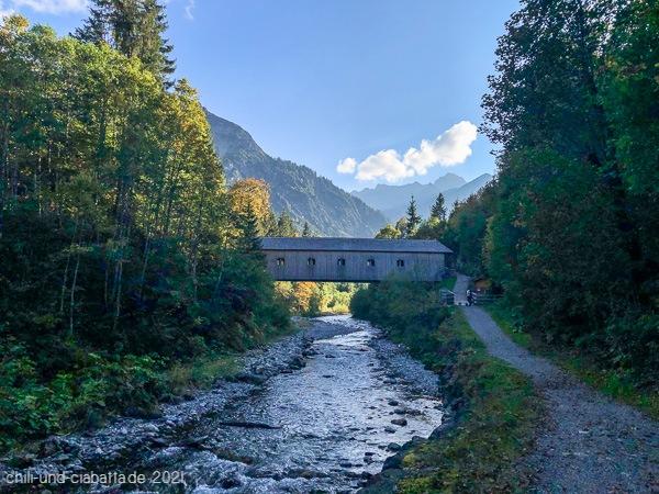 Höflerbrücke an der Breitach