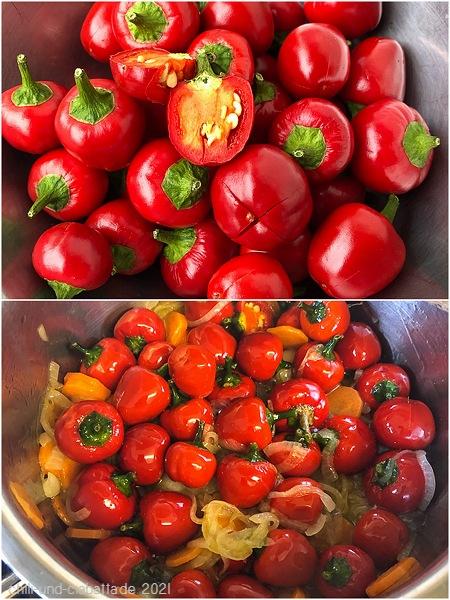 Kirsch-Chilis einlegen